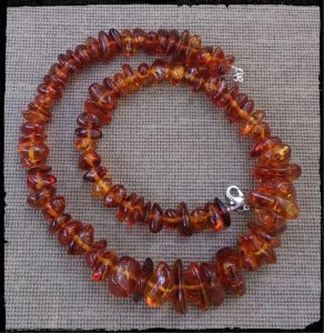 polished amber necklace.2jpg