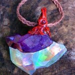 Tanzan & Angel Aura Crystal Pendant